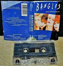 THE BANGLES      -  GREATEST HITS  -                            Cassette Tape