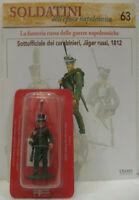 """Soldatini Napoleonici in piombo """"SOTTOUFFICIALE dei Carabinieri Jager Russi 1812"""