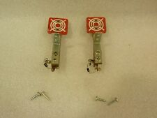 Sharp Shooter Ii Pinball '83 Playfield Machine Lot Of 2 Fixed Red Targets!