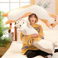 Long Cotton Cute Cat Doll Plush Toy Soft Stuffed Sleeping Pillow 50CM Comfort