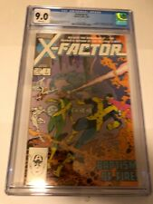 X-Factor # 1 (2/86) CGC Graded Comic Book 1st Cameron Hodge and Rusty