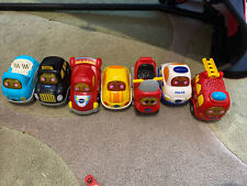 Vtech toot toot cars bundle X 7 - Great Condition With Batteries Motorbike Taxi