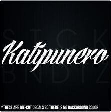 KATIPUNERO PINOY KKK JDM CUTE FUNNY DECAL STICKER MACBOOK CAR WINDOW MOTORCYCLE