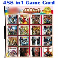 488 in1 Video Game Cartridge Console Card for NS NDSI NDS NDSL 2DS 3DS NEW