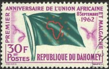 Dahomey 195 gestempeld 1962 Afrikaanse.-Madagaskar Unie