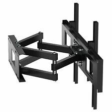 "TV Wall Bracket Mount Tilt & Swivel for 32 40 42 46 50 55 60 70"" Double Arms"