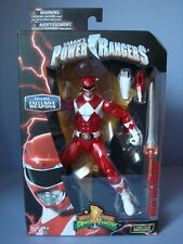 Figurine Mighty Morphin Power Rangers Jason red rouge Limited  Bandai Legacy