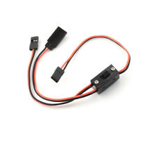 RC Switch Receiver Battery On/Off With JR Lead Connectors And Charge XX
