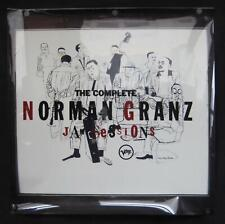 """The Complete Norman Granz Jam Sessions Mint- Light Box Transparency 36""""x36"""""""