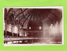 Albert Hall early Interior pre Fire Nottingham unused RP pc Oobden  Ref C7