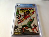 IRON MAN 15 CGC 9.0 WHITE PAGES YELLOW BORDER VARIANT RED GHOST MARVEL COMICS