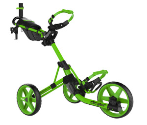 RARE NEW 2020 CLICGEAR MODEL 4.0 Push/Pull Golf Cart, LIME, FREE SHIP 48 STATES