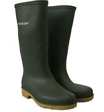 Womens ladies Dunlop Wellies Festival Rain Waterproof Girls Wellington Boots 2-8