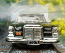 007 JAMES BOND Black Mercedes Benz 250 SE - Octopussy - 1:43 BOXED CAR MODEL