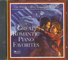 READERS DIGEST - GREAT ROMANTIC PIANO FAVORITES - NEW SEALED CD