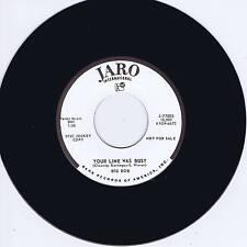 BIG BOB - YOUR LINE WAS BUSY - MONSTER SCREAMIN' BLACK ROCKIN' JIVER - REPRO