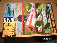 !!! RC Pilot n°45 plan encarté Typhoon EPP / Accus Lipo Mirage 2000-10 F86 Sabre