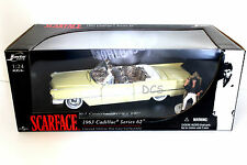 "JADA 1963 CADILLAC SERIES 62 FROM MOVIE ""SCARFACE AL PACINO'S 1/24 DIECAST CAR"