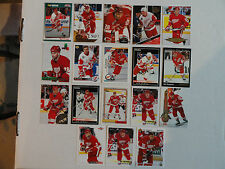 Ray Sheppard  Detroit Red Wings 18 Card Lot ALL DIFFERENT PACK FRESH !!!
