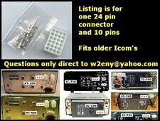 Icom IC 701 720 730 740 745 751 IC-2KL AT100 AT500 24 pin connector