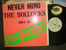 SEX PISTOLS never mind the bollocks RARE LP '77! pink green version bsk3147 PIL