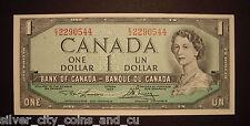 Canada 1954 BC-37d $1 Short Run Note E/I2290544 - ChUnc