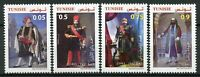 Tunisia 2019 MNH Husainid Beys 4v Set Art Paintings Costumes Cultures Stamps