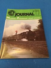 Modellbahn Journal 1979 4 M+F BR 52 41 01 ET 85 BR 99 67-71 pr. G3 BR 53 Märklin