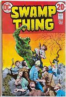 SWAMP THING # 5, Aug. 1973, Len Wein & Bernie Wrightson, Beauty
