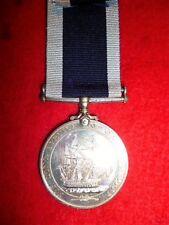 Royal Naval Long Service Medal, Elizabeth II Britt Omn to H.M.S. Defender