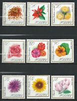 Pologne N°1546/54** (MNH) 1966 - Fleurs divers