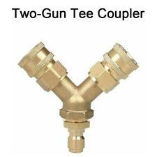1cm Passform Hochdruckreiniger T-Shirt Splitter Kupplung Schnell Verbinden Zwei
