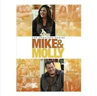 Mike and Molly (DVD, 2016, 17-discs) The Complete Series collection Seasons 1-6