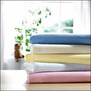 Jersey 100% Cotton Jersey Cot Bed Fitted Sheet 70x140+15 CM