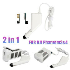 17.5V 5A Dual USB Car Charger w/Pararrel Board for DJI Phantom 3 4 Smartphone