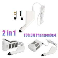 17.5V 5A Dual USB Car Charger w/Pararrel Board for DJI Phantom 3 4 Smartphone