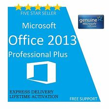 MICROSOFT OFFICE PROFESSIONAL PLUS 2013 32 /64BIT LICENSE KEY- SCRAP PC