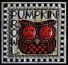 HINZEIT Cross Stitch Chart with 2 Charms PUMPKIN PROWL Halloween