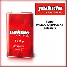 PAKELO KRYPTON XT SAE 5W40 1 LITRO OLIO LUBRIFICANTE SINTETICO BENZINA DIESEL