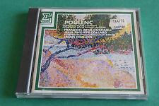 "CD POULENC ""CONCERTO POUR 2 PIANOS, AUBADE"" DUCHABLE & COLLARD / ERATO, TB ETAT"
