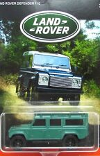 2016 Matchbox LAND ROVER ANNIVERSARY 1997 LAND ROVER DEFENDER 110 mint on card!