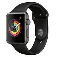 Apple Watch Series 3 (GPS) 42mm Space Gray Aluminum Case MTF32LL/A
