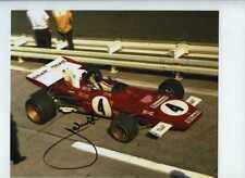 Jacky Ickx Ferrari 312 B2 Winner German Grand Prix 1972 Signed Photograph 1