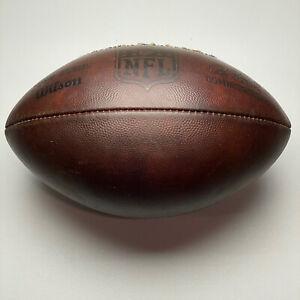 "2011 Washington Redskins Game Issued Wilson ""The Duke"" NFL Football"
