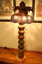 90cm XXL Palme Kokosnuss Lampe Kokos Leuchte Thailand Coconut Stehlampe groß