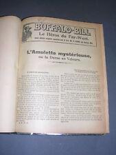 Buffalo Bill Le héros du far-west 1927 Fascicules 76 a 100 relié en un volume