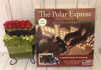The Polar Express Holiday Gift Set DVD Book & Santa's Sleigh Bell Sealed