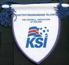 ICELAND FOOTBALL FEDERATION NEW LOGO SMALL PENNANT EURO 2016