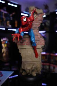 Sideshow Spider-Man Comiquette Exclusive Mint Condition OG ORIGINAL AUTHENTIC EX