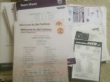 Sunderland Football Programmes with Reserves